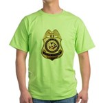 BIA Police Officer Green T-Shirt