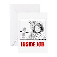 JFK: Inside Job Greeting Card