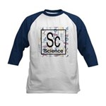 Science Retro Kids Baseball Jersey
