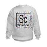 Science Retro Kids Sweatshirt