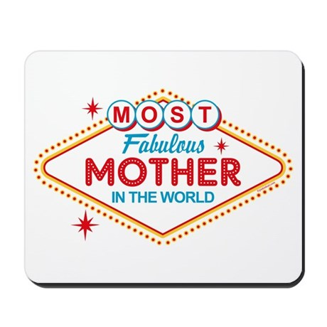 Las Vegas Fabulous Mom Mousepad