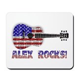 ALEX ROCKS! Mousepad