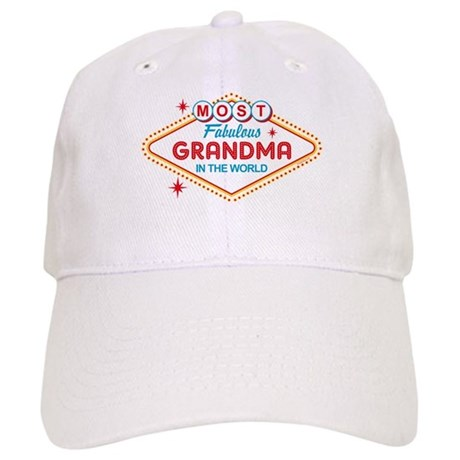 Las Vegas Fabulous Grandma Cap