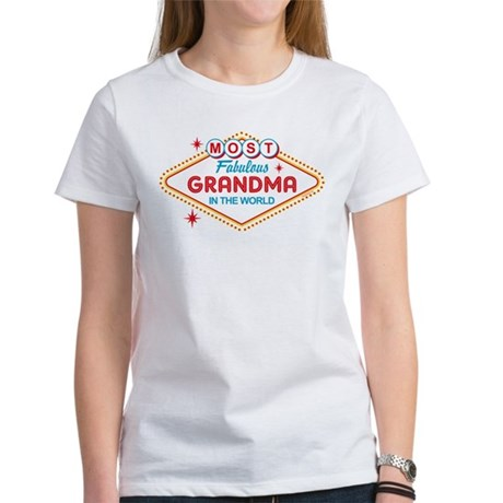 Las Vegas Fabulous Grandma Women's T-Shirt