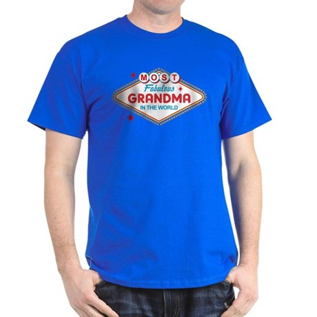 Las Vegas Fabulous Grandma Dark T-Shirt