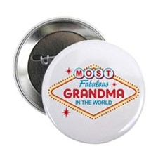 "Las Vegas Fabulous Grandma 2.25"" Button"