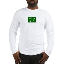 EXIT 9 Long Sleeve T-Shirt