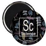 Science Retro Magnet