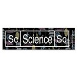 Science Retro Bumper Sticker