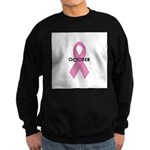 Breast Cancer Awareness Month Sweatshirt (dark)