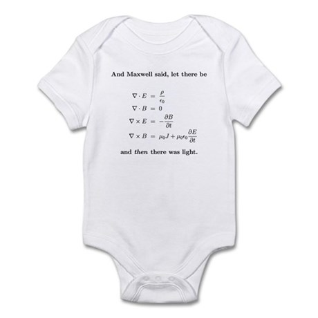 Maxwell's equations Body Suit