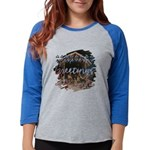 Science Retro Women's Raglan Hoodie