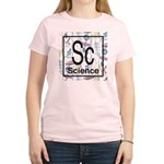 Science Retro Women's Light T-Shirt