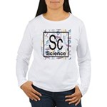 Science Retro Women's Long Sleeve T-Shirt