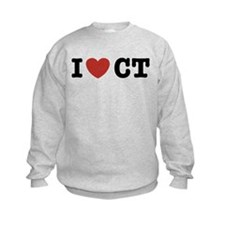 I Love CT Sweatshirt