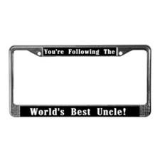 World's Best Uncle License Plate Frame