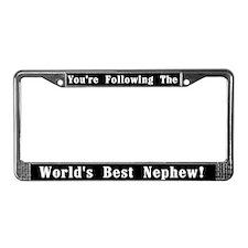 World's Best Nephew License Plate Frame