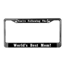 World's Best Mom License Plate Frame