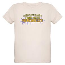 I Want Her to Aerobicize Organic Kids T-Shirt