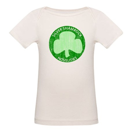 Silver Shamrock Organic Baby T-Shirt