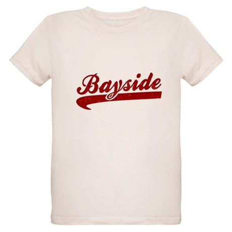 Bayside Tigers (Distressed) Organic Kids T-Shirt