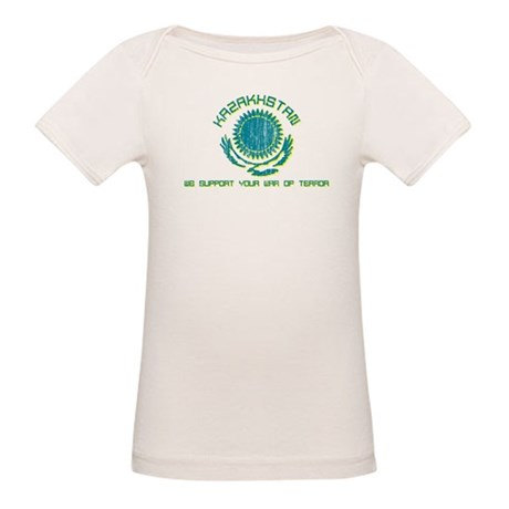 Kazakhstan - We Support Your Organic Baby T-Shirt