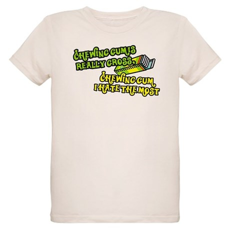 Chewing gum is really gross Organic Kids T-Shirt