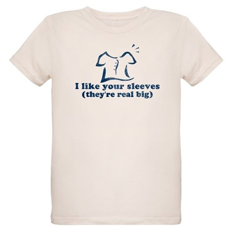 I like your sleeves Organic Kids T-Shirt