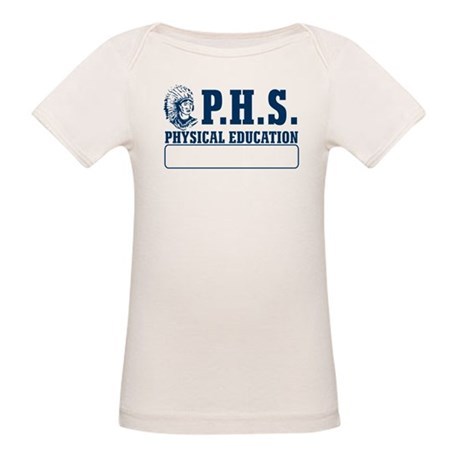 P.H.S. Physical Education Organic Baby T-Shirt
