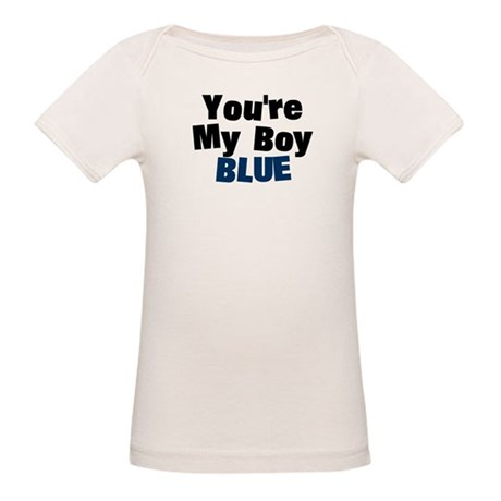 Your My Boy Blue Organic Baby T-Shirt