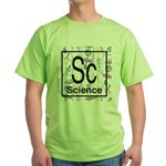 Science Retro Green T-Shirt