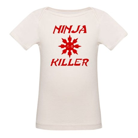 Ninja Killer Organic Baby T-Shirt