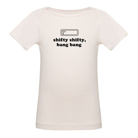 Shifty Shifty, Bang Bang Organic Baby T-Shirt
