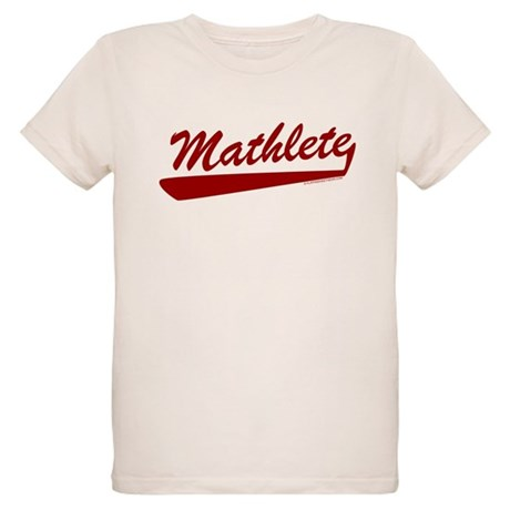 Mathlete Organic Kids T-Shirt