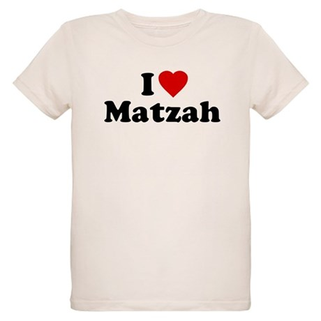 I Love [Heart] Matzah Organic Kids T-Shirt