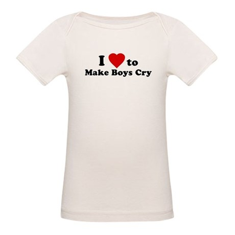 I Love [Heart] to Make Boys C Organic Baby T-Shirt