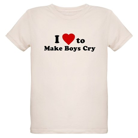 I Love [Heart] to Make Boys C Organic Kids T-Shirt