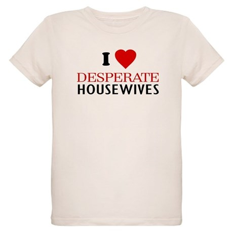 I Love Desperate Housewives Organic Kids T-Shirt