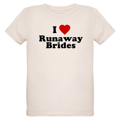 I Love Runaway Brides Organic Kids T-Shirt