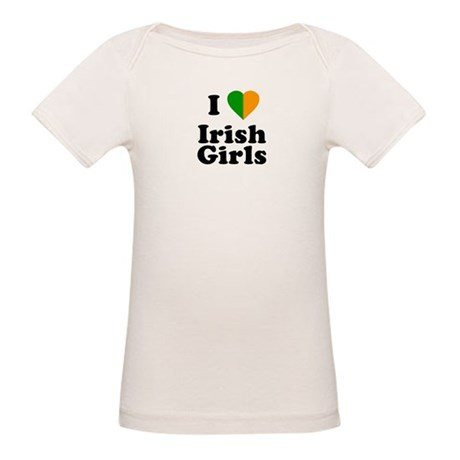 I Love Irish Girls Organic Baby T-Shirt