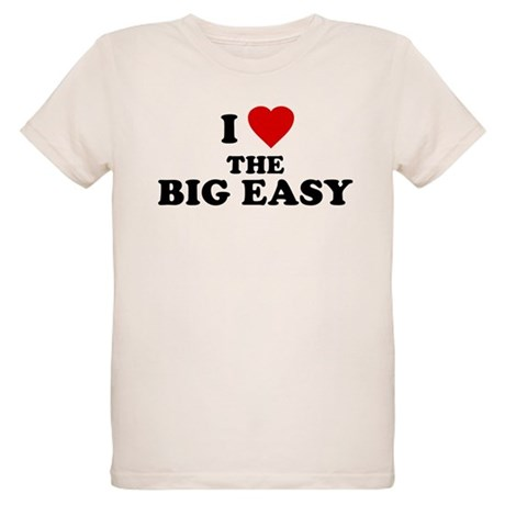 I Love [Heart] the Big Easy Organic Kids T-Shirt