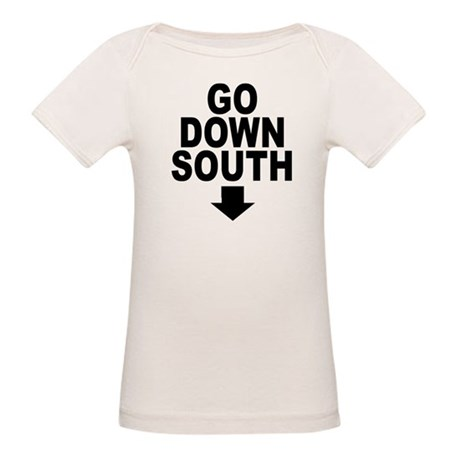 Go Down South ↓ Organic Baby T-Shirt