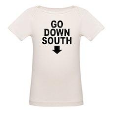 Go Down South ↓ Organic Baby T-Shirt