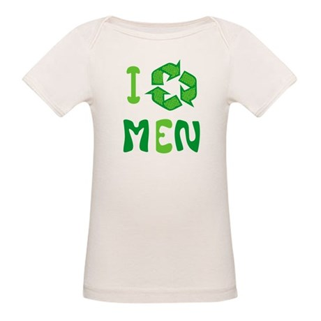 I Recycle Men Organic Baby T-Shirt