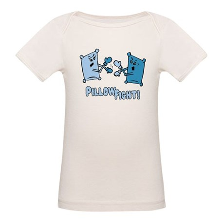 Pillow Fight Organic Baby T-Shirt