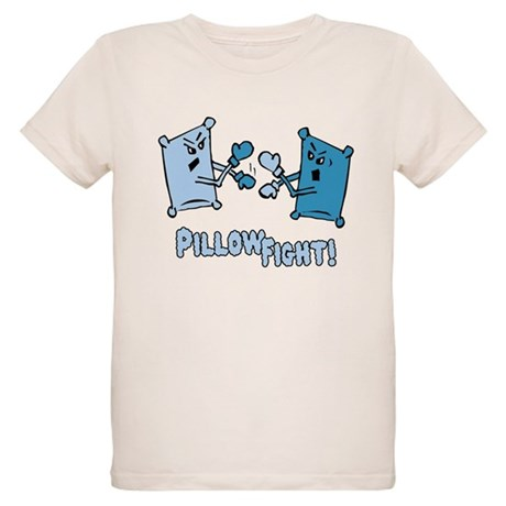 Pillow Fight Organic Kids T-Shirt