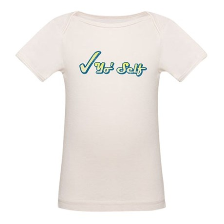 Check Yo' Self (Vintage) Organic Baby T-Shirt