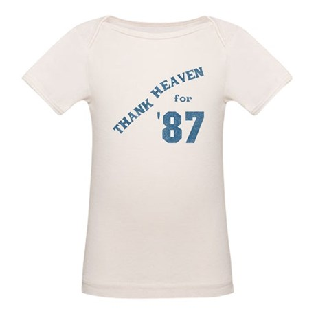Thank Heaven for '87 Organic Baby T-Shirt