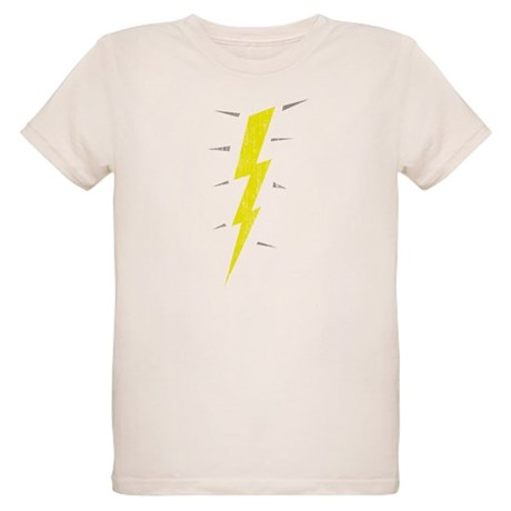 Lightning Bolt (Vintage) Organic Kids T-Shirt
