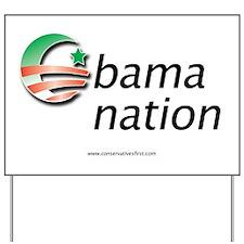 Obama Nation Yard Sign